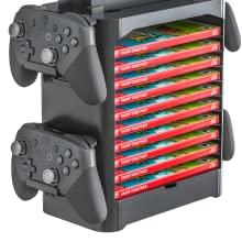 storage for nintendo switch controllers and games