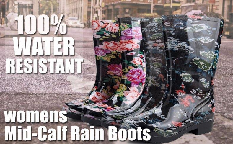 rain boots for women,rain boots,rain shoes,rubber boots,hunter boots,wide calf boots,water boots