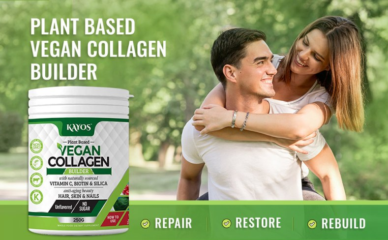 Kayos plant based vegan collagen