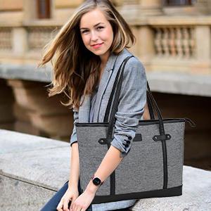 women laptop work bag