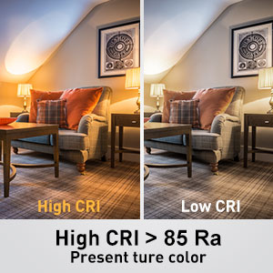 High color rendering index