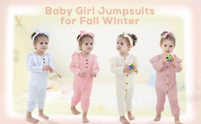 infant girl jumpsuit