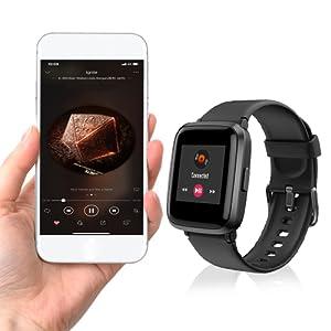 smart watch control music