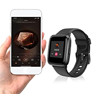 smart watch control music
