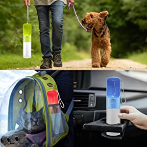 Water Bottle for Dogs on the go