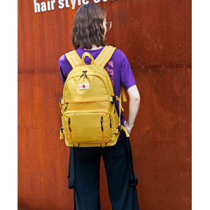 flymei yellow backpack for girls cute bookbags for school