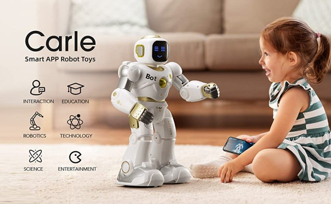 Ruko robots for kids for technology interaction science entertainment