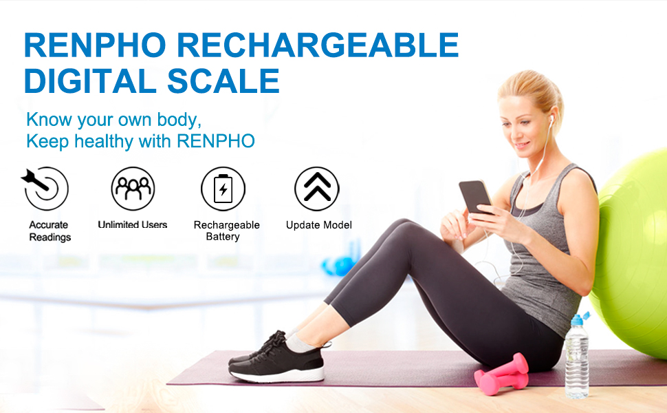 rechargeable scale