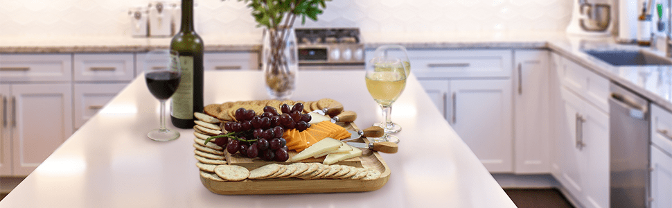 charcuterie board, cheese board knife set,charcuterie platter,cheese tray,entertaining serving sets