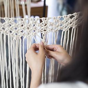 Handweaved by indian artisans