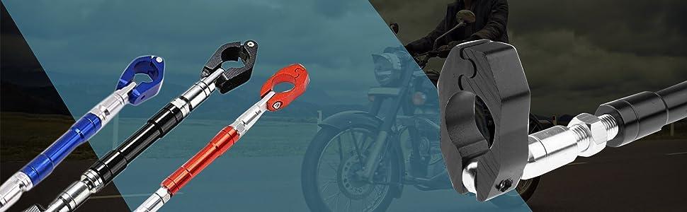 BLP Adjustable Motorcycle Handlebar Cross Bar for Royal Enfield Bullet