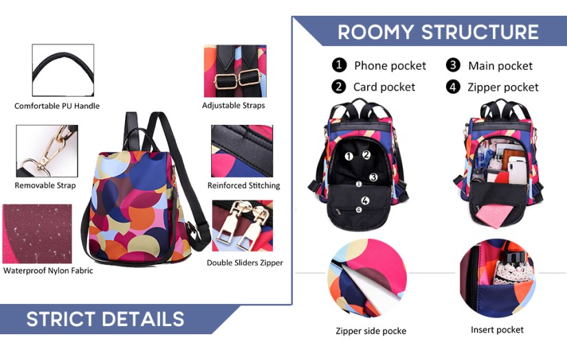mochilas de mujer bookbags for teen girls e girl leather pink nurse bags and totes for work college