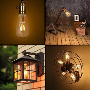 tronisky Edison Vintage Glühbirne