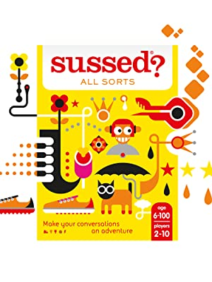 SUSSED pocket travel trivia icebreaker conversation card game puzzle family friendly board fun