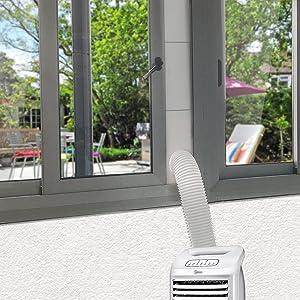 used on window