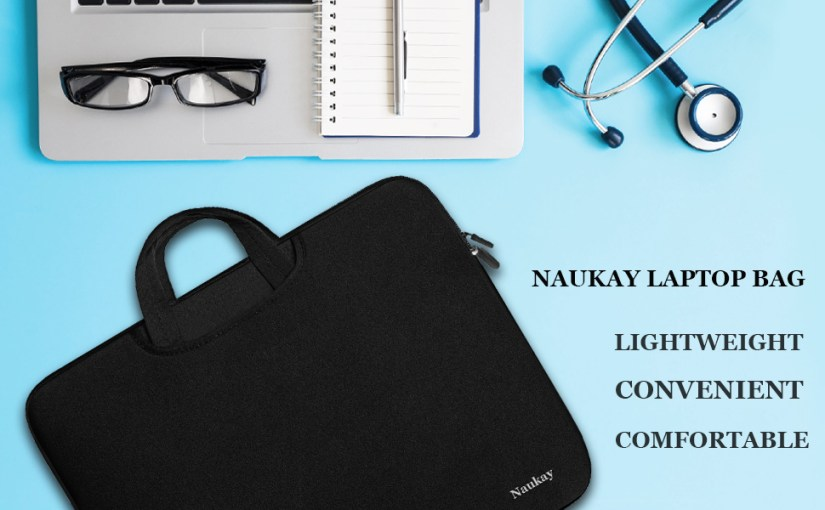 Naukay 15.6 Inch Laptop Handle Bag