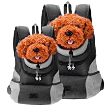 front carrier backpack for small dogs