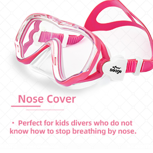 swim goggles with nose cover