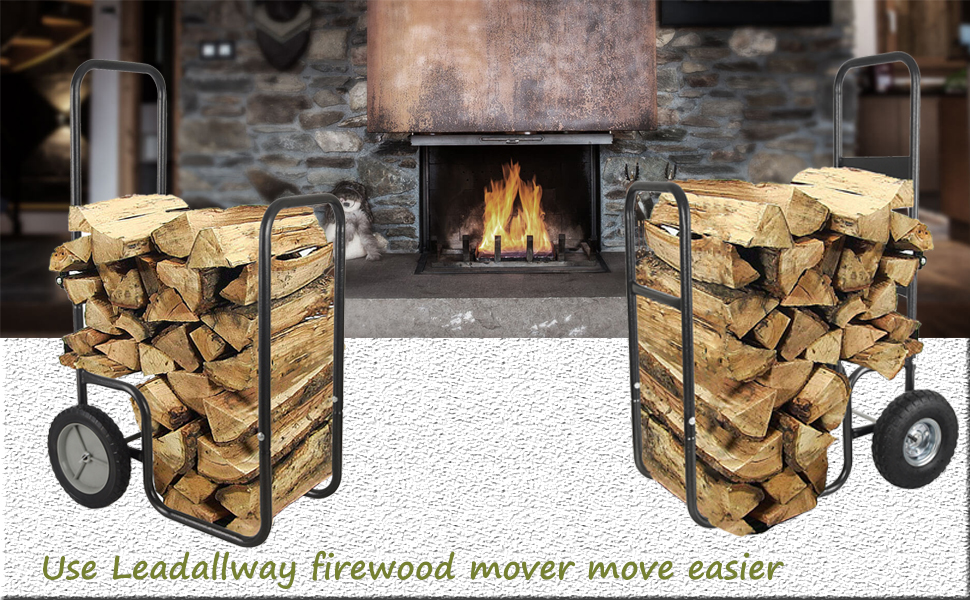 2.firewood log cart