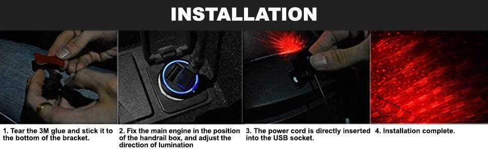 car light projector