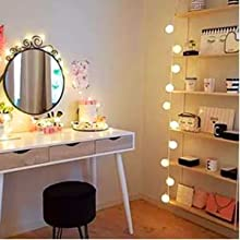 led makeup lights for mirror