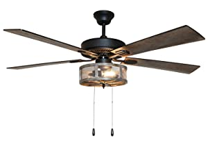 River of Goods Industrial Ceiling Fan