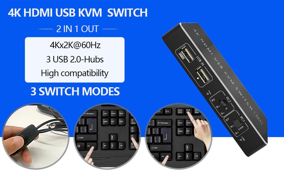 KVM HDMI Switch