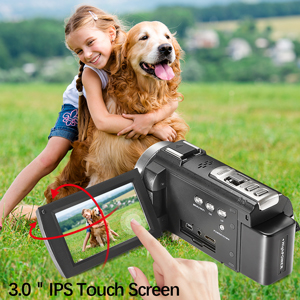 """3.0"""" IPS Touch Screen"""