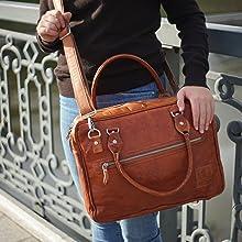 Berliner Bags Messenger Bag Madrid