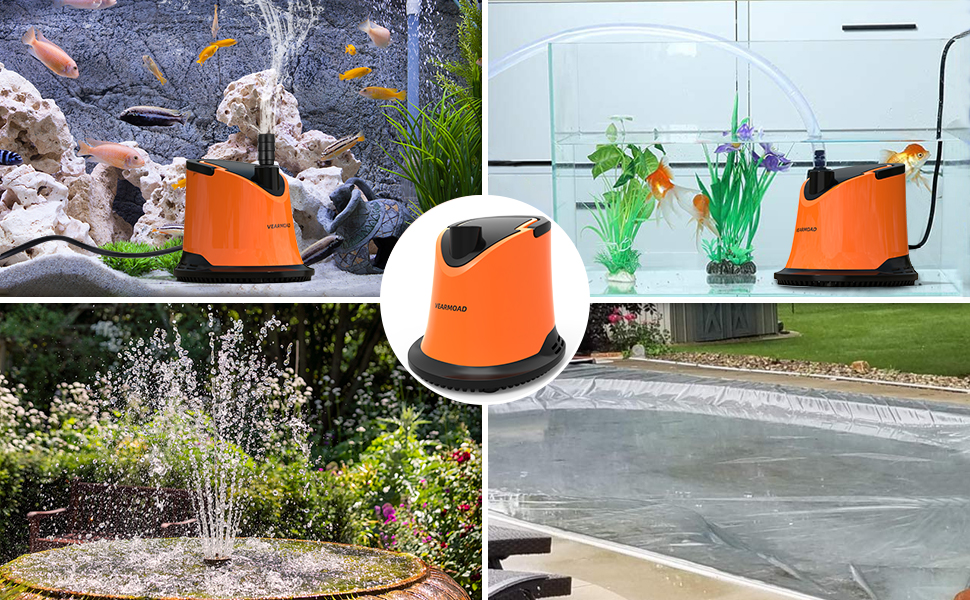 Swimming Pool Cover Submersible Pump