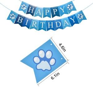 Dog Birthday Banner