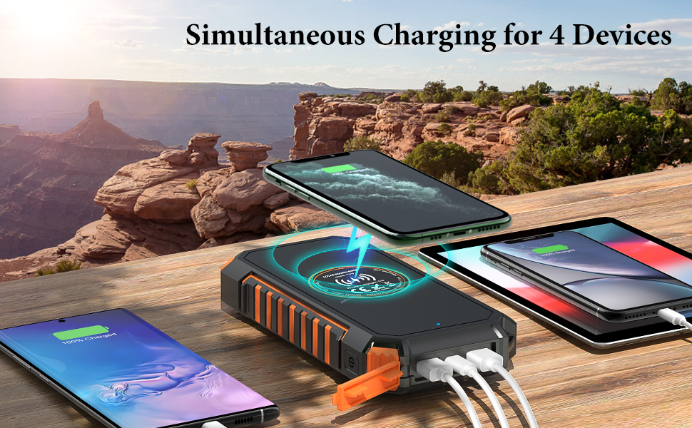 Simultaneous Charging for 4 Devices