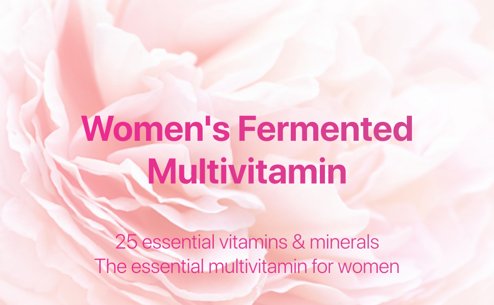 Codeage - Women's Fermented Multivitamin - 25 Essential Vitamins