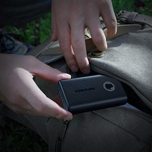 Portable power bank.