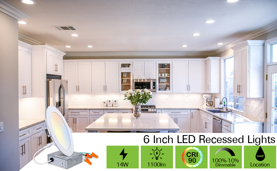 LED RECESSED LIGHTS 4 INCH