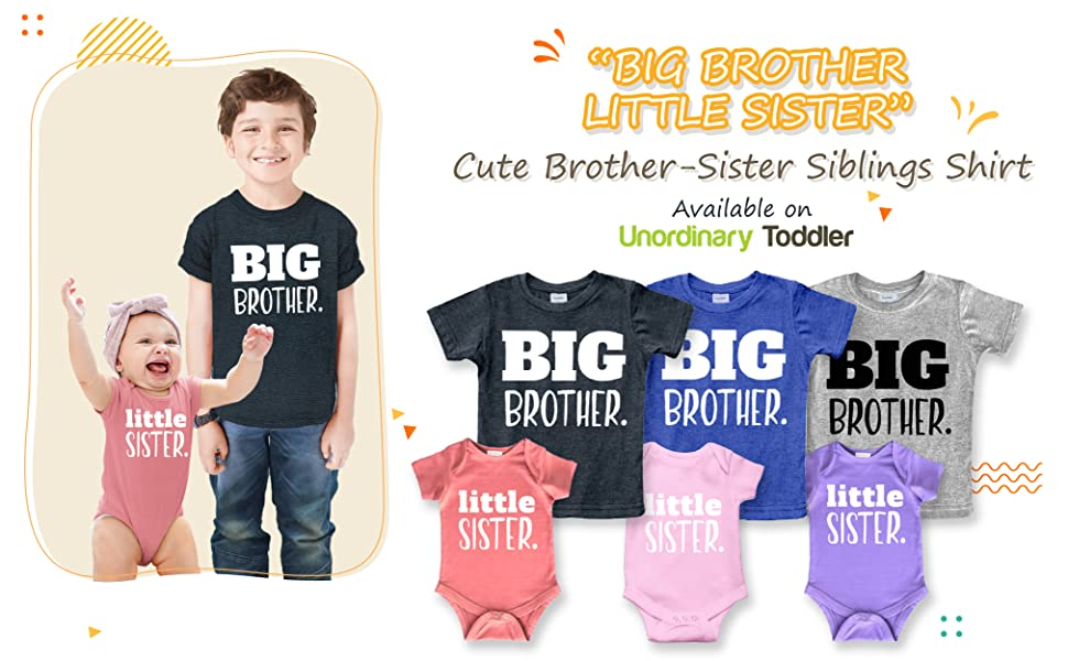 """""""Big Brother Little Sister   Dot Combo"""""""