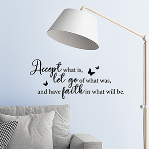 inspirational wall decal