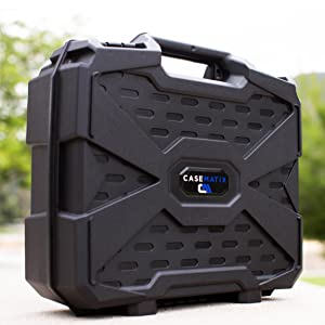 hard shell pelican style carrying case for laptops military grade