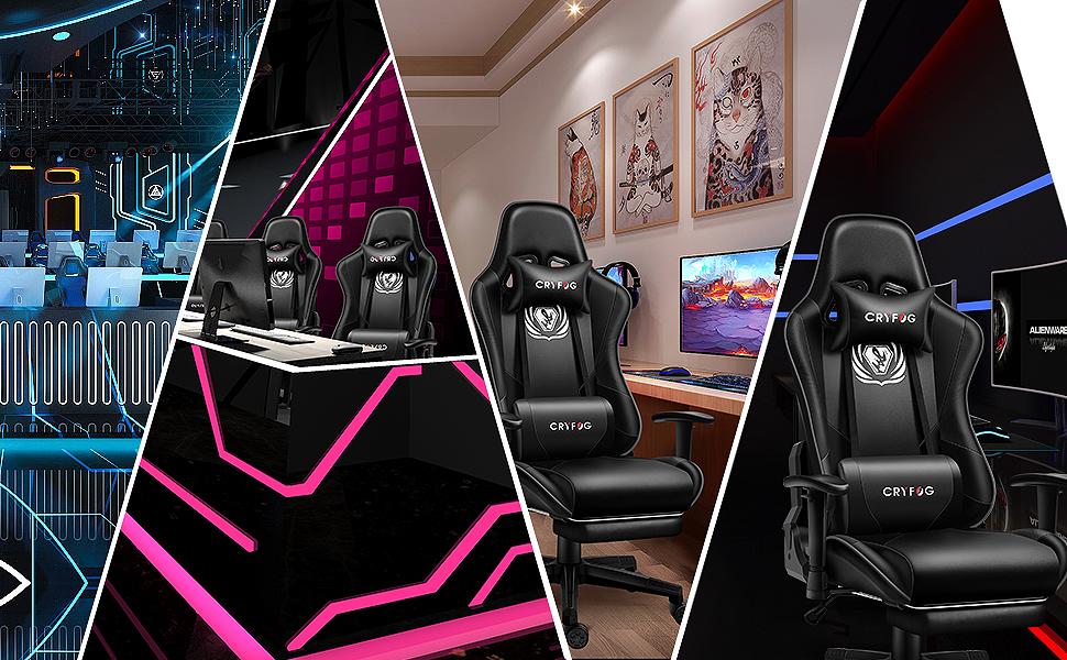CRYfog Vedio Gaming Chair