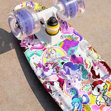 Skateboard stickers for Girls Kids