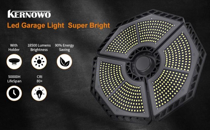 LED GARAGE LIGHT DEFORMABLE SUPER BRIGHT 140W