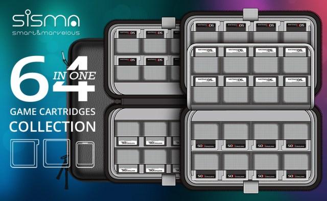 nintendo switch 3ds ds dsi 2ds games cartridges holder card storage case
