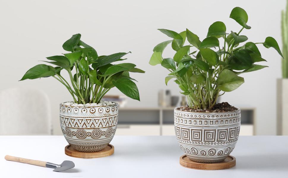 EPGardening planter in high quality of ceramic