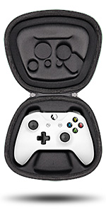 fit xbox one s x wireless controller gamepad holder storage case pouch