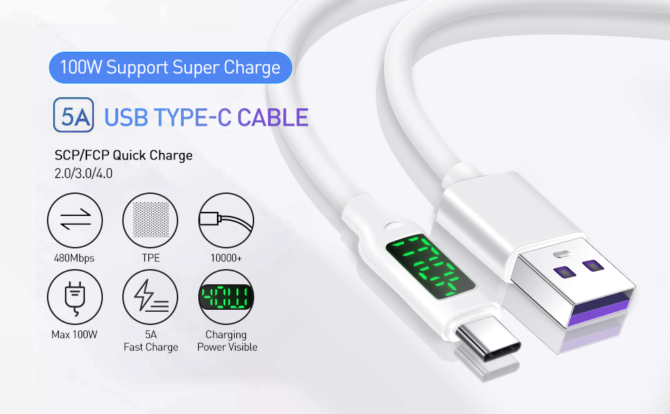 type c cable 1m type c cable charger