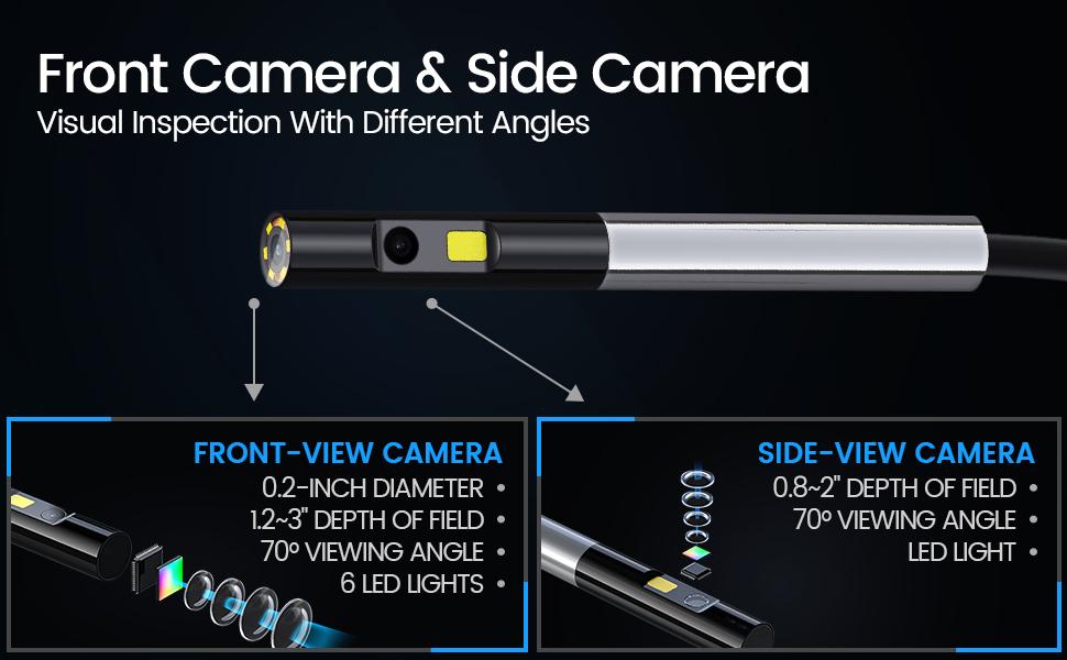 Çift Kameralı Borescope
