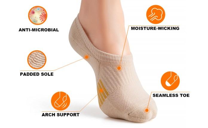 No-Show Running Socks