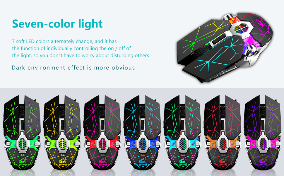 seven-color light