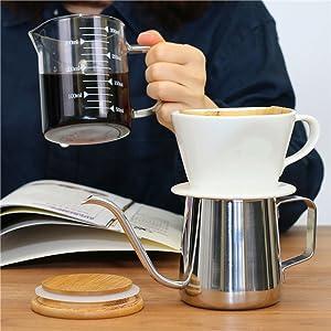 ceramic coffee cone