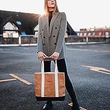 majnberg kraftpapier Einkaufstasche tasche bag papier vegan nachhaltig praktisch stylish chic